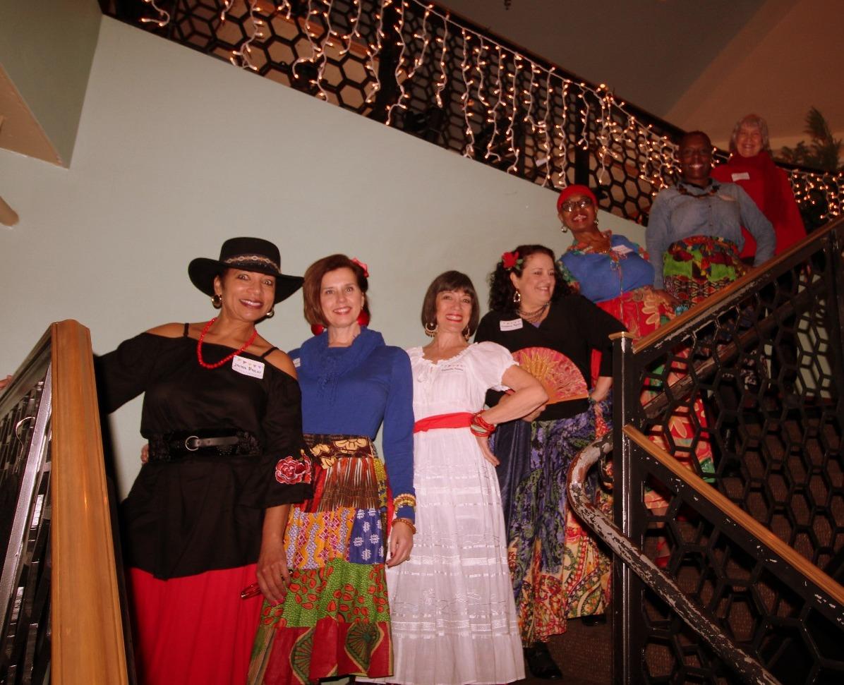 Noche de Fiesta stairway3
