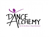 Dance Alchemy logo w Color & phrase 2